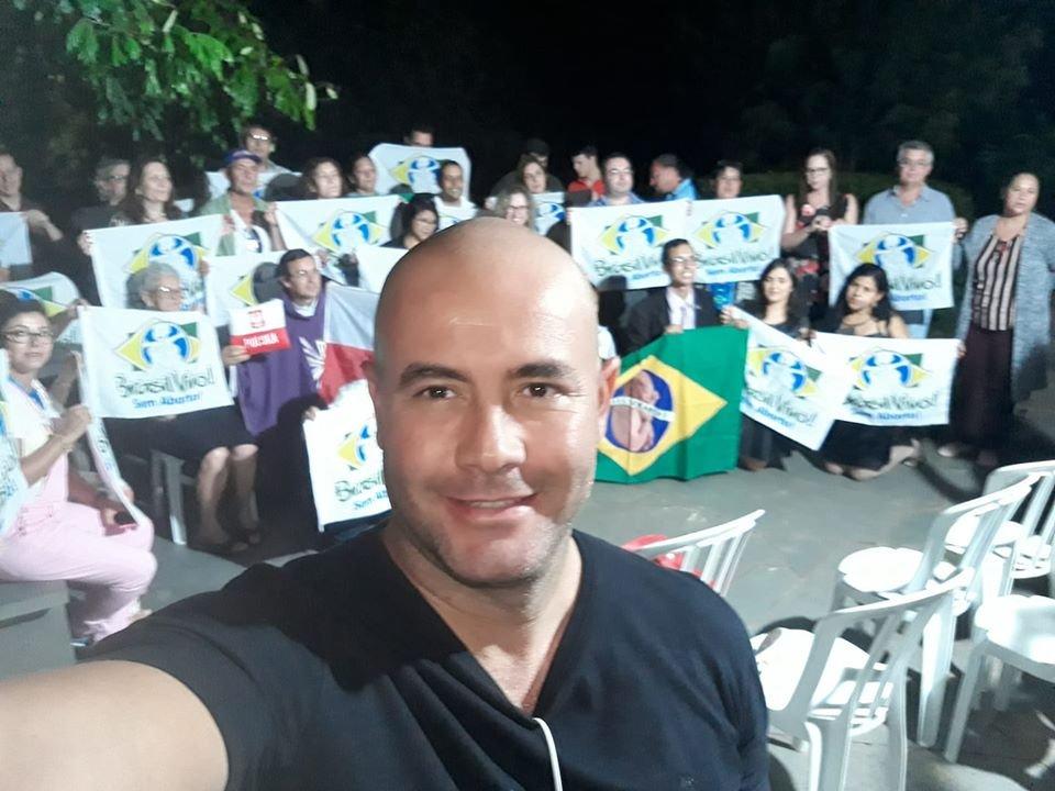 Daniel Miguel, integrante do 300 do Brasil