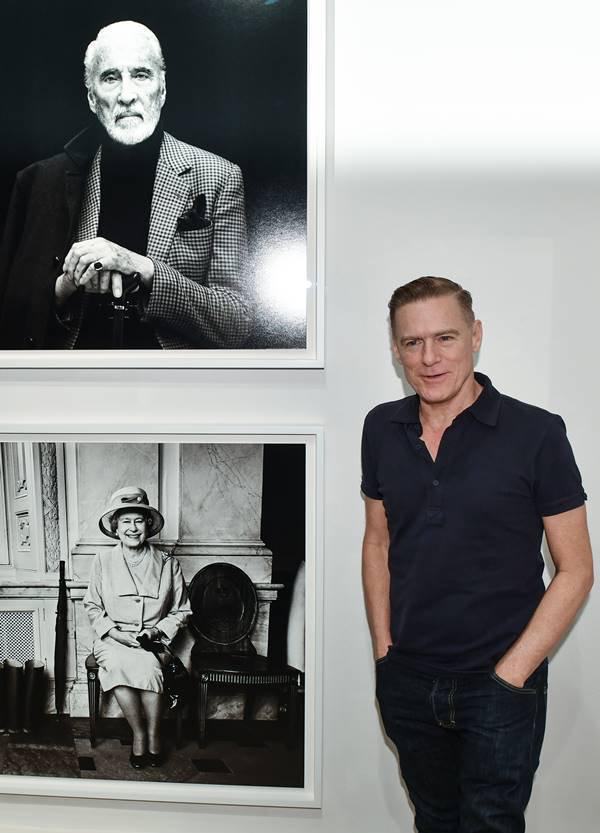Bryan Adams em exposição