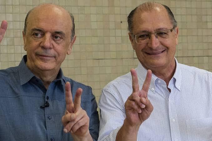 Alckmin e Serra
