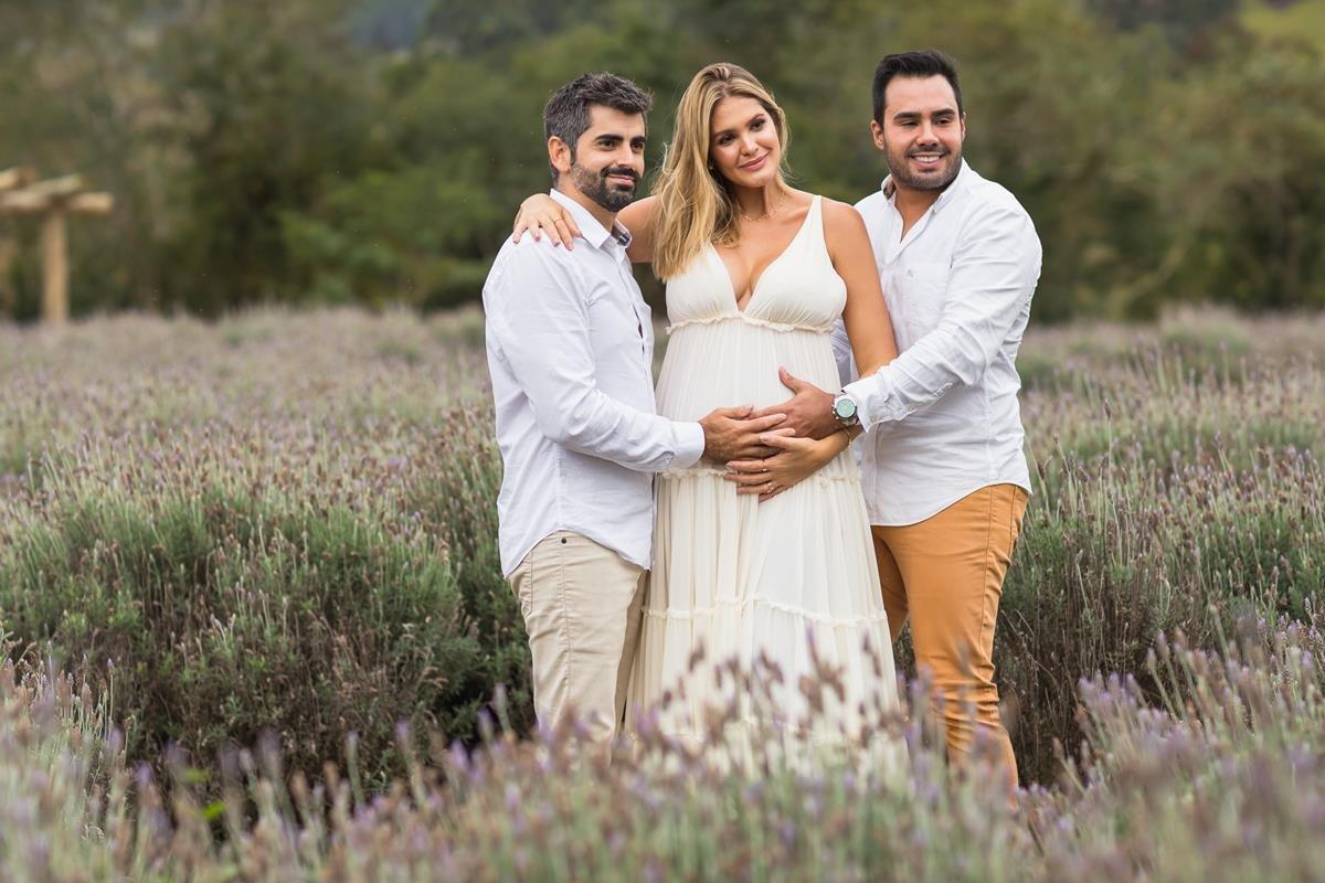 Conrado Clemente, Samira Badaró e Thiago Miranda