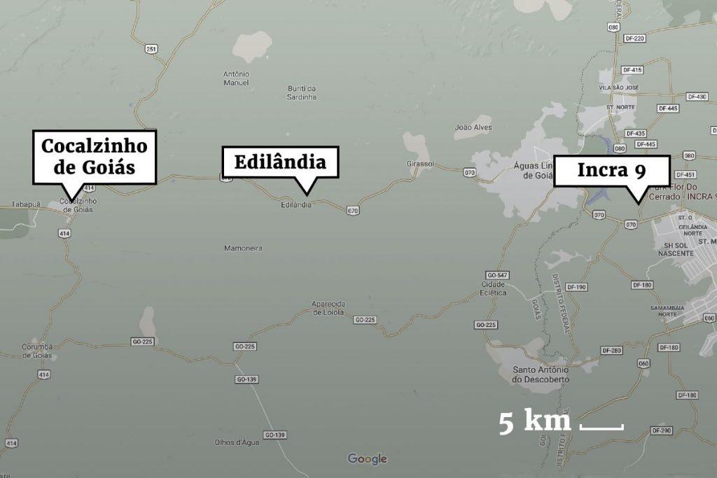 2-Mapa--1024x683 Lázaro é morto durante troca de tiros na mata, diz polícia