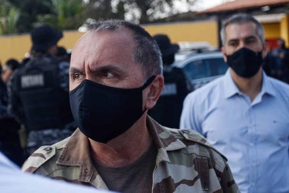 Coronel da PMDF, Eduardo Naime, chefe do Departamento de Operações