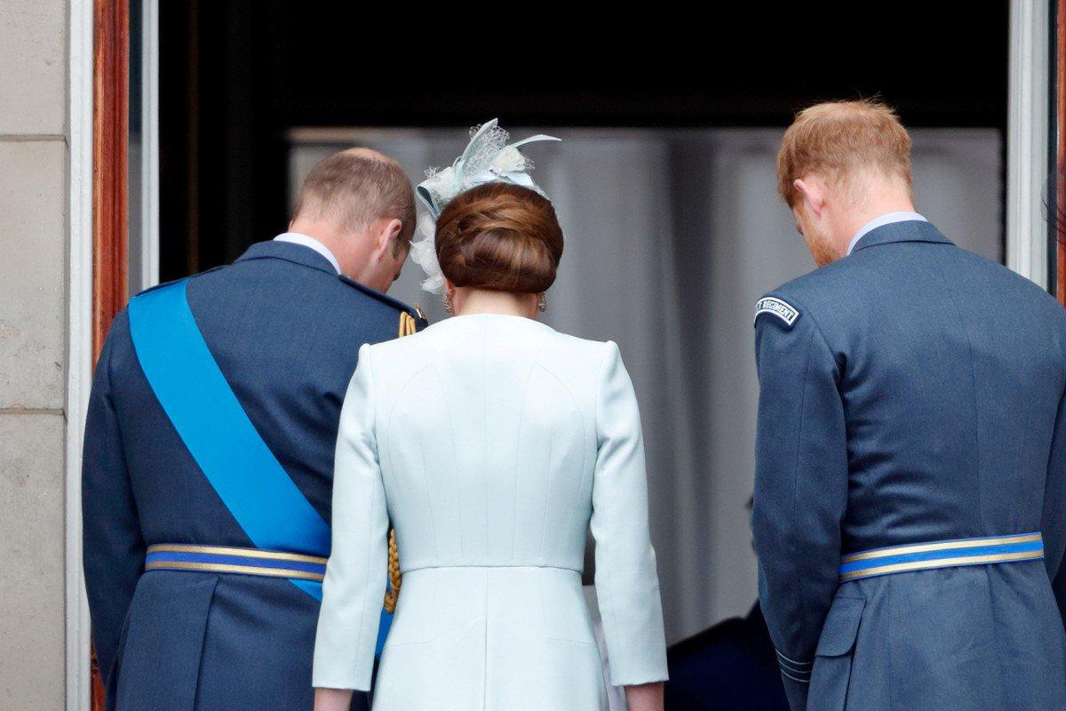 William, Kate Middleton e Harry