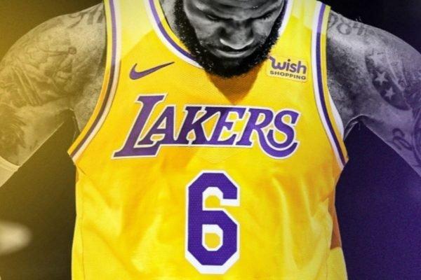LeBron James 6 Lakers