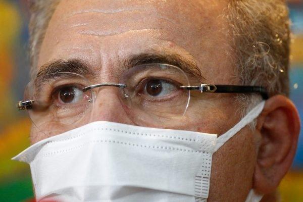 Médico Marcelo Queiroga, ministro da Saúde do Brasil