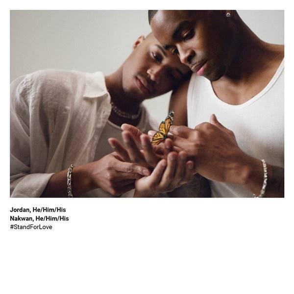 Campanha Stand For Love, da Tiffany & Co