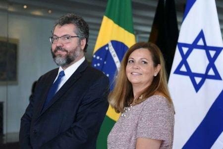 Ernesto Araújo e Maria Eduarda de Seixas Corrêa