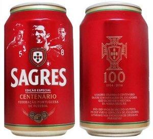 Lata de Cerveja Sagres