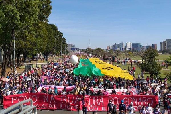 Caminhada de sábado (19/6) contra o presidente Bolsonaro