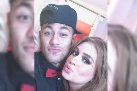 Neymar e mariana Ruy Barbosa