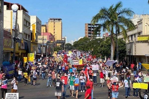 goias protesto fora bolsonaro