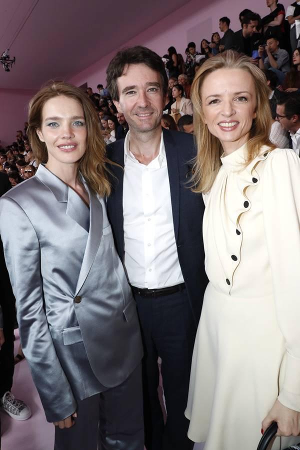 Natalia Vodianova, Antoine Arnault e Delphine Arnault