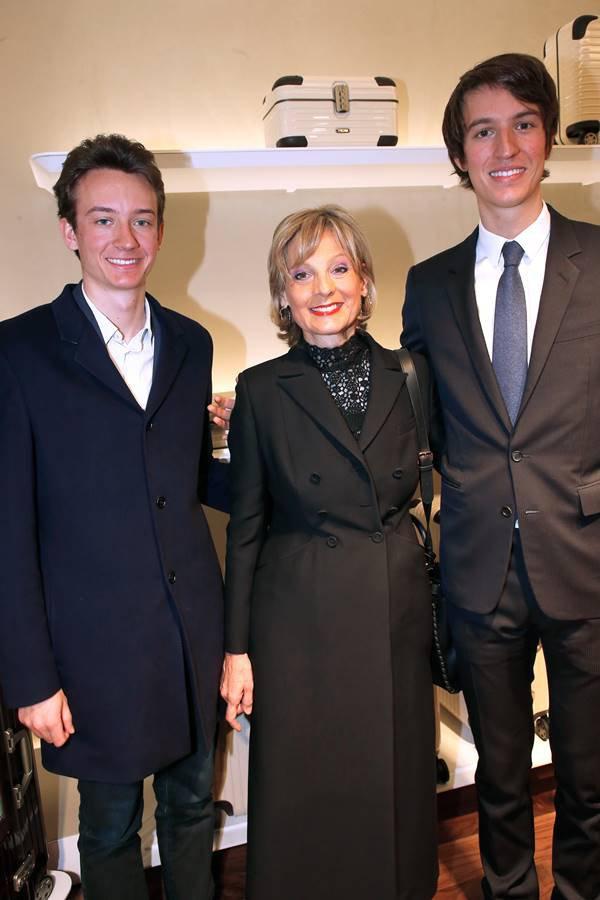 Frédéric Arnault, Hélène Mercier e Alexandre Arnault