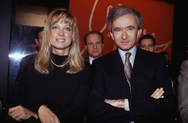 Hélène Mercier e Bernard Arnault