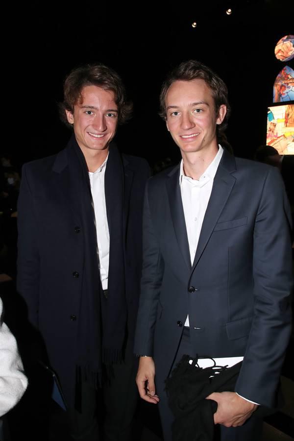Jean Arnault e Frédéric Arnault