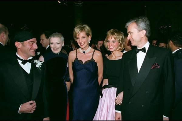 Princesa Diana e Bernard Arnault