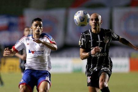 Bahia e Corinthians empataram em 0 x 0