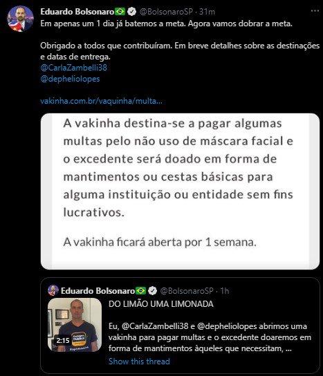 twitter eduardo bolsonaro