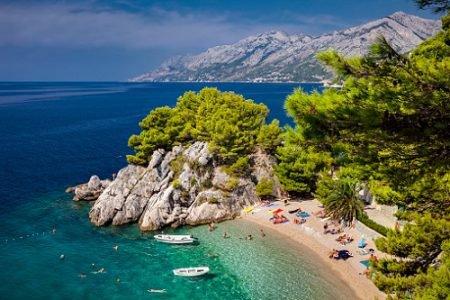 praia na croácia