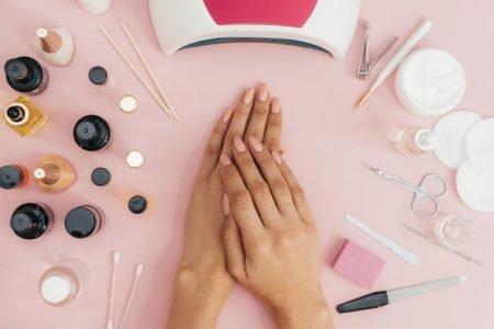 Unhas, higiene, manicure