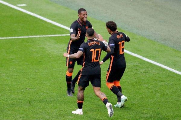 Holanda derrota a Macedônia do Norte por 3 x 0