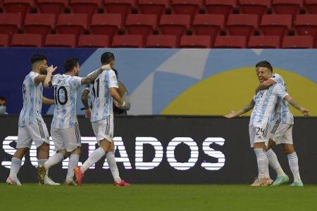Argentina Agüero, Messi e Di María