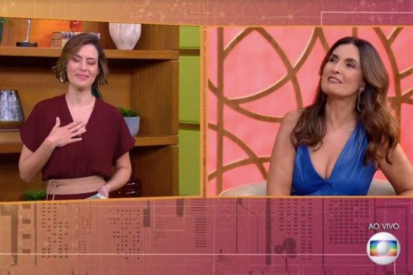 Michelle Loreto e Fátima Bernardes