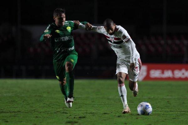 São Paulo empata com o Cuiabá em 2 x 2