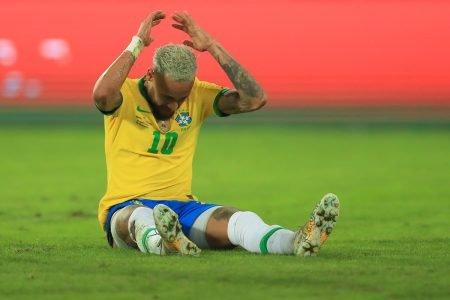 Neymar gramado Engenhão