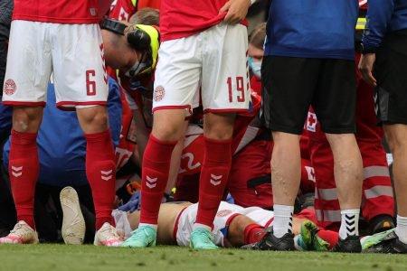 Eriksen Dinamarca Eurocopa