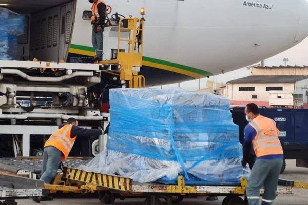 doses da Janssen chegam ao Brasil
