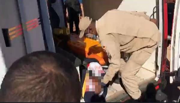 Policiais colocaram Lázaro dentro da ambulância
