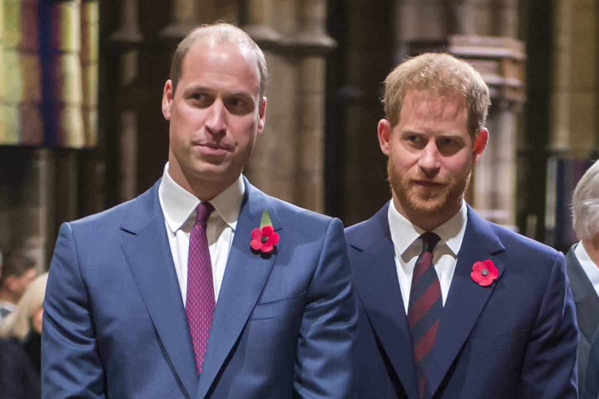 Príncipes William e Harry