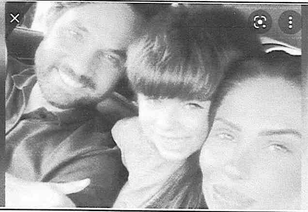 Jairinho ao lado de Monique e Henry Borel