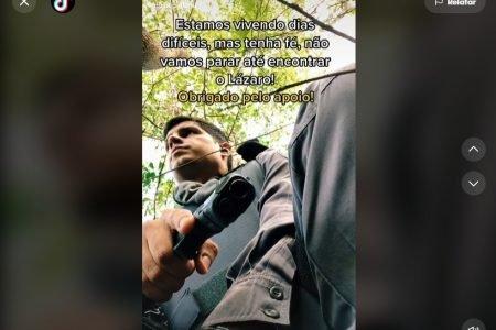 Caso Lázaro: conteúdos sobre criminoso bombam em TikTok e ganham repercussão