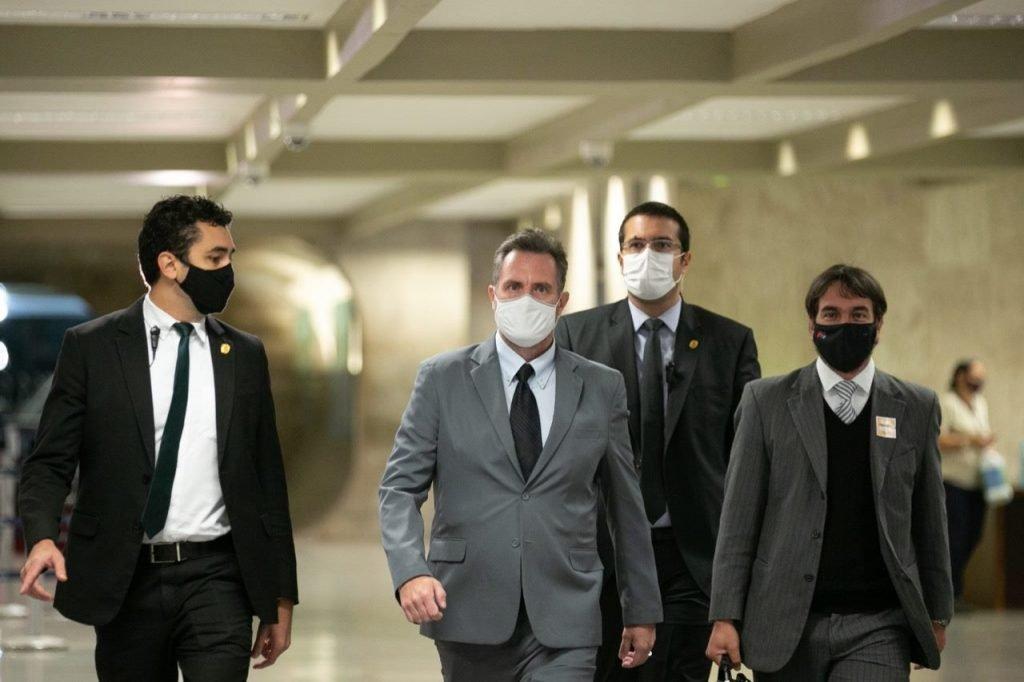 Luiz Dominguetti na CPI da Covid 3