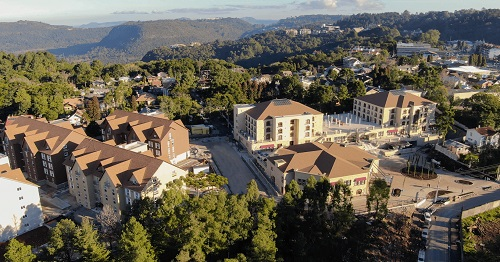 foto de resort visto de cima
