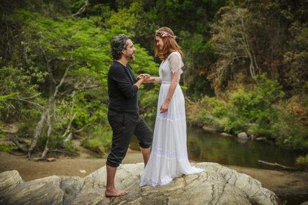 José Alfredo e Maria Ísis se casam no Monte Roraima em Império