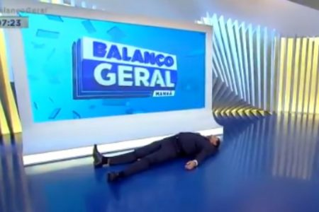"""Geraldo Luís no """"Balanço Geral Manhã"""""""
