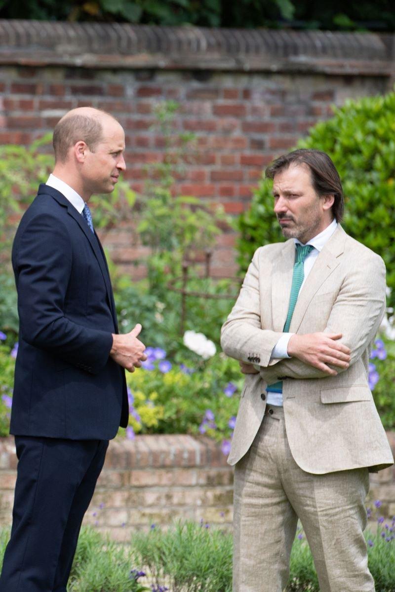 Príncipe William com Pip Morrison