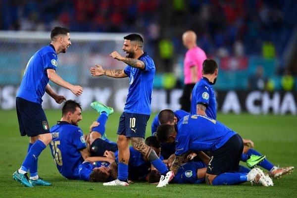 Jogadores da Itália Eurocopa