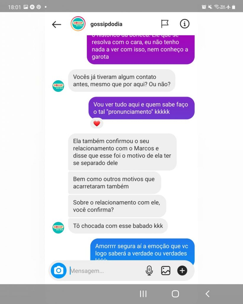 Gossip do dia Lívia Andrade 1