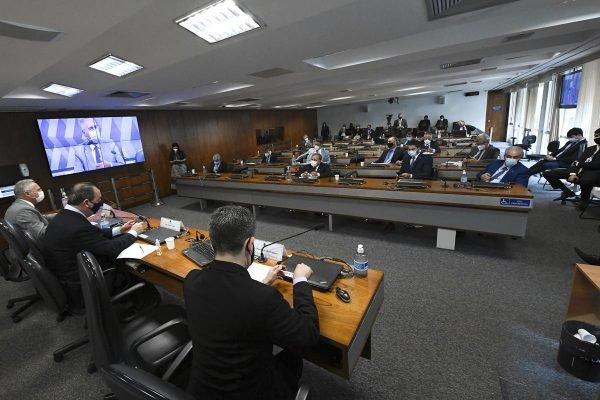 Plenário da CPI da Covid