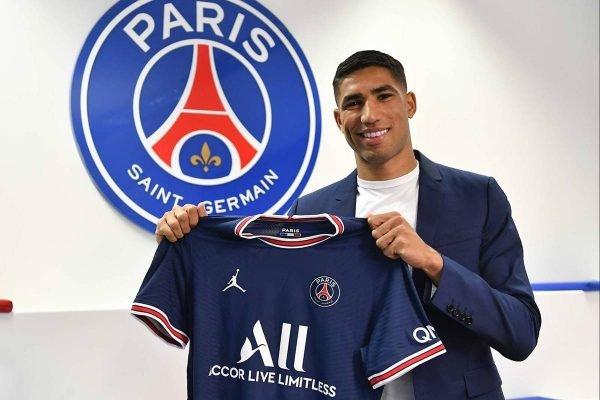 Achraf Hakimi no Paris Saint-Germain