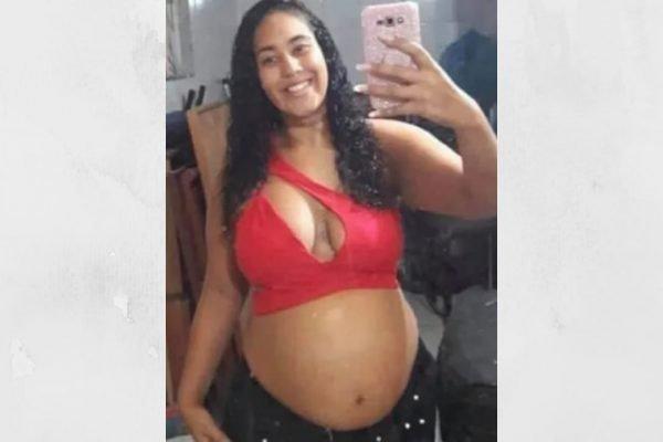 Thaysa Campos dos Santos grávida morta linha do trem guadalupoe rio