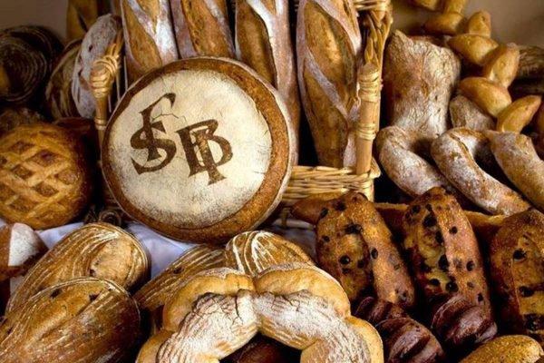 pães variados