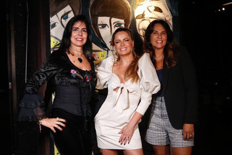 Sônia Gontijo, Lorena Leão e Elizângela Rosa