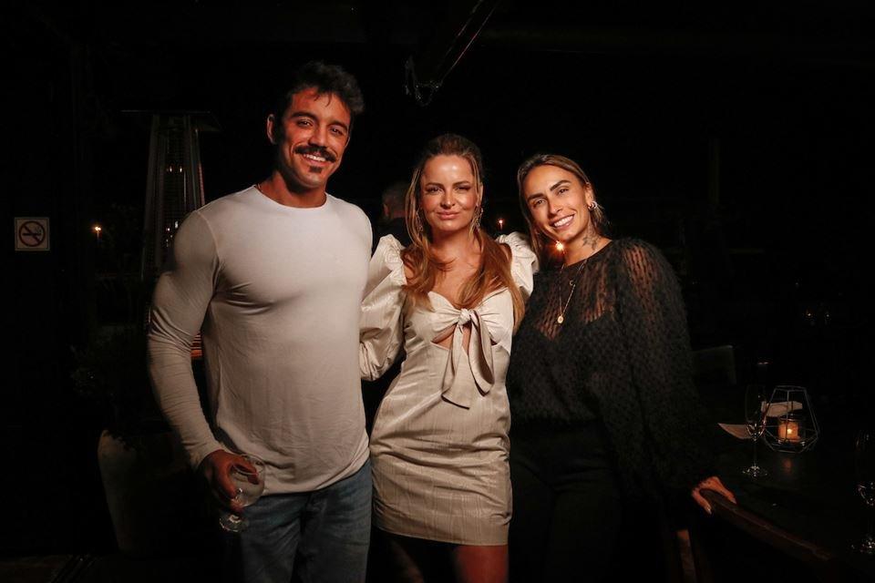 André Coelho, Lorena Leão e Clara Maia