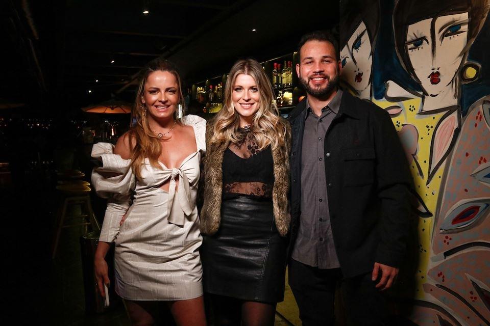 Lorena Leão, Lia Volpato e Paulo Cavalcante
