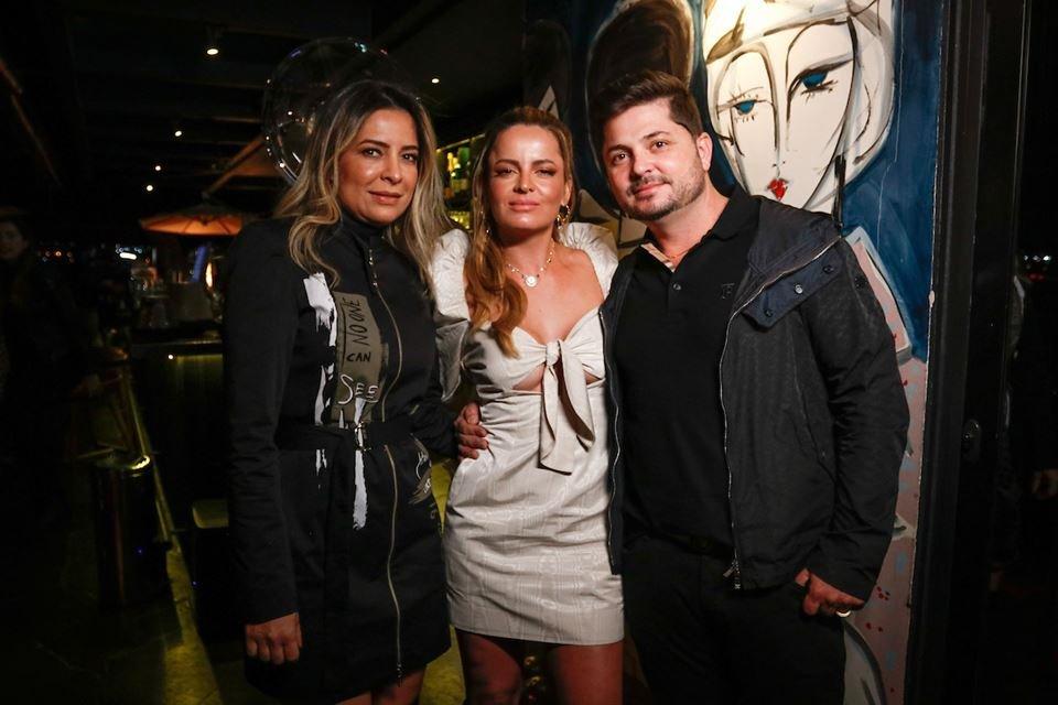 Valéria Linhares, Lorena Leão e Moacir Júnior